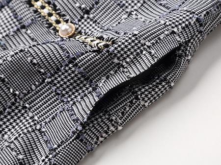 小香风连衣裙细节1