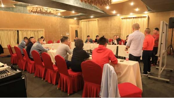 深圳市恒优服饰有限公司2019年度总结会议