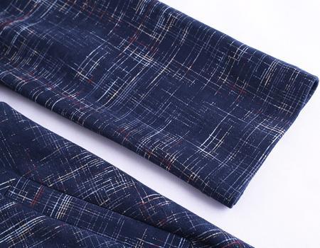 针织连衣裙细节