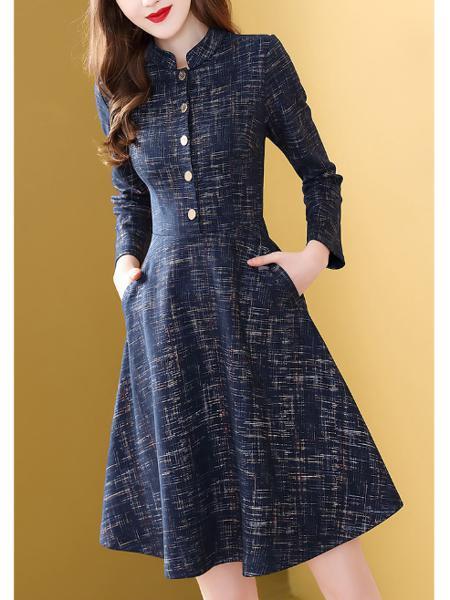 针织连衣裙定制