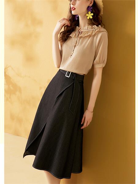 高腰显瘦半身裙