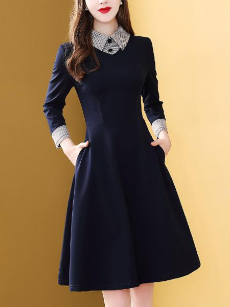 针织立连衣裙定制