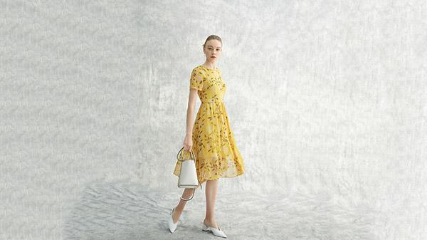 恒优服饰连衣裙穿搭,每一天都美的不重样