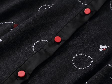 衬衣式连衣裙细节1