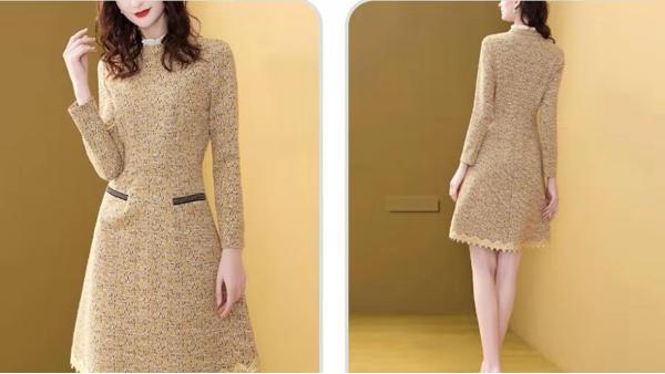 针织连衣裙保温保暖保时髦